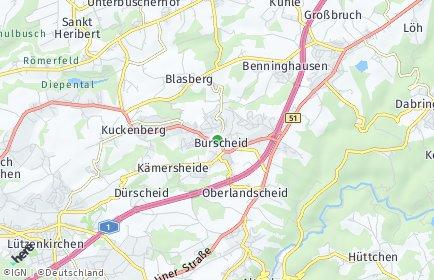 Stadtplan Burscheid