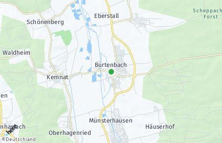 Stadtplan Burtenbach