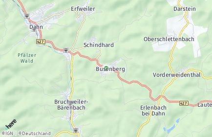 Stadtplan Busenberg
