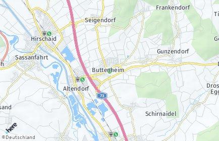 Stadtplan Buttenheim