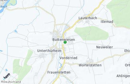 Stadtplan Buttenwiesen