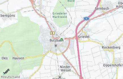 Stadtplan Butzbach