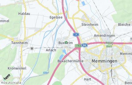 Stadtplan Buxheim (Schwaben)