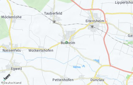 Stadtplan Buxheim