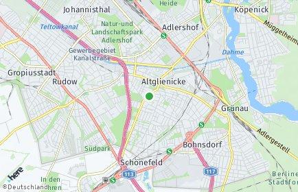 Stadtplan Berlin-Altglienicke