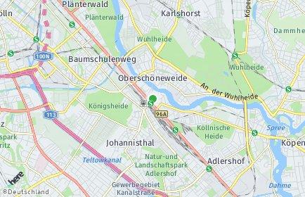 Stadtplan Berlin-Niederschöneweide