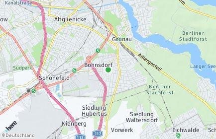 Stadtplan Berlin-Bohnsdorf