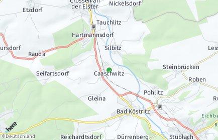 Stadtplan Caaschwitz