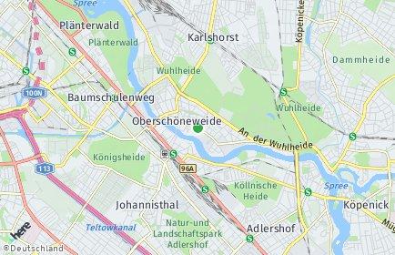 Stadtplan Berlin-Oberschöneweide