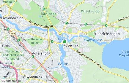 Stadtplan Berlin-Köpenick