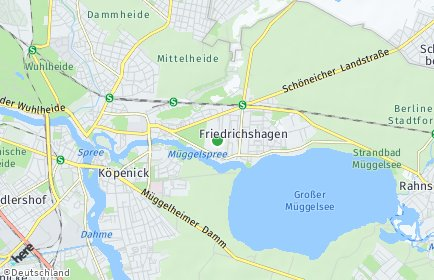 Stadtplan Berlin-Friedrichshagen