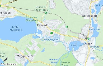 Stadtplan Berlin-Rahnsdorf