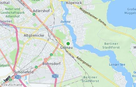Stadtplan Berlin-Grünau