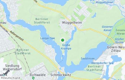 Stadtplan Berlin-Müggelheim
