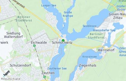 Stadtplan Berlin-Schmöckwitz