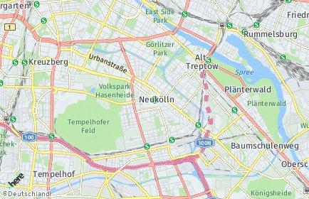 Stadtplan Berlin-Neukölln