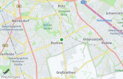 Stadtplan Berlin-Buckow