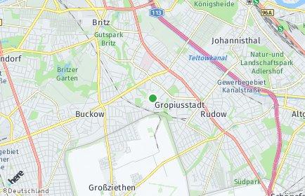 Stadtplan Berlin-Gropiusstadt