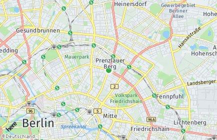 Stadtplan Berlin-Prenzlauer Berg