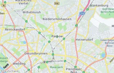 Stadtplan Berlin-Pankow