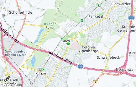 Stadtplan Berlin-Buch