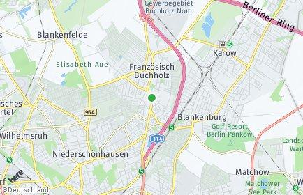 Stadtplan Berlin-Französisch Buchholz