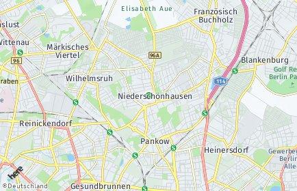 Stadtplan Berlin-Niederschönhausen
