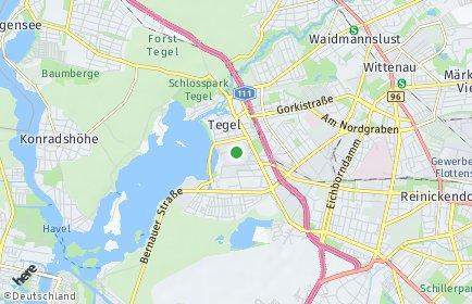 Stadtplan Berlin-Tegel