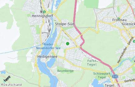 Stadtplan Berlin-Heiligensee
