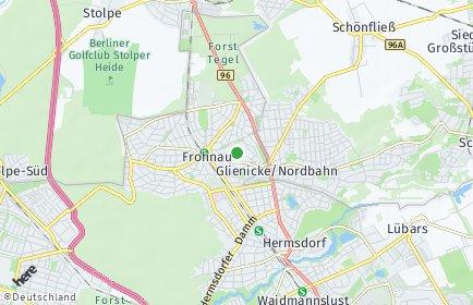 Stadtplan Berlin-Frohnau