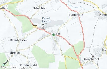Stadtplan Calden