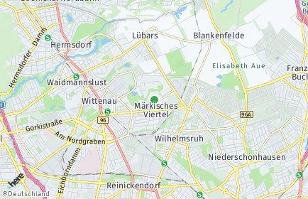 Stadtplan Berlin-Märkisches Viertel
