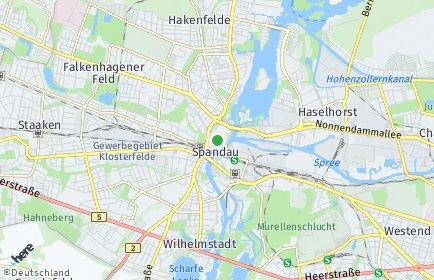 Stadtplan Berlin-Spandau