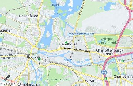 Stadtplan Berlin-Haselhorst