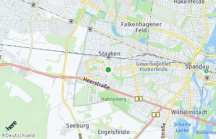 Stadtplan Berlin-Staaken