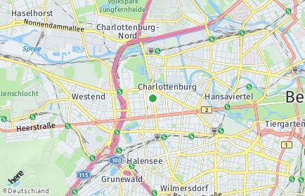 Stadtplan Berlin-Charlottenburg