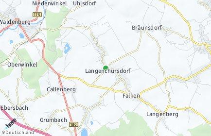 Stadtplan Callenberg