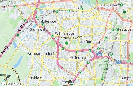 Stadtplan Berlin-Wilmersdorf