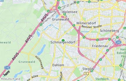 Stadtplan Berlin-Schmargendorf