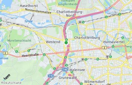 Stadtplan Berlin-Westend
