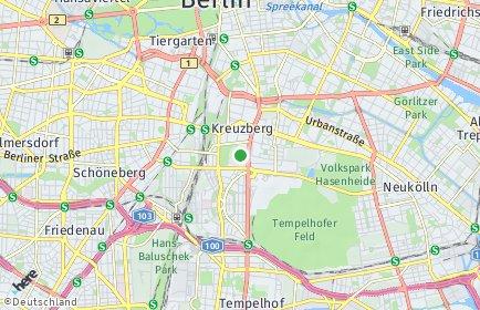 Stadtplan Berlin-Kreuzberg