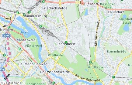 Stadtplan Berlin-Karlshorst