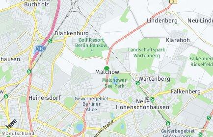 Stadtplan Berlin-Malchow