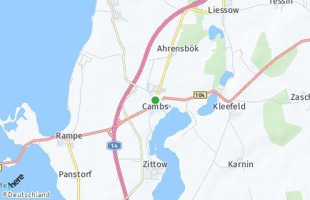 Stadtplan Cambs