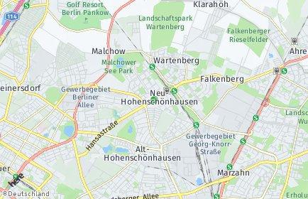 Stadtplan Berlin-Neu-Hohenschönhausen