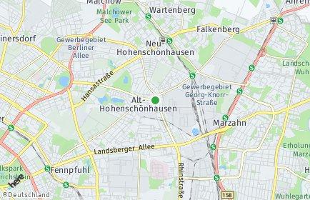 Stadtplan Berlin-Alt-Hohenschönhausen
