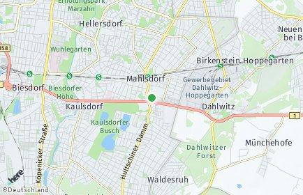 Stadtplan Berlin-Mahlsdorf