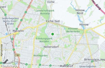 Stadtplan Berlin-Hellersdorf