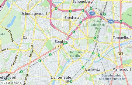 Stadtplan Berlin-Steglitz
