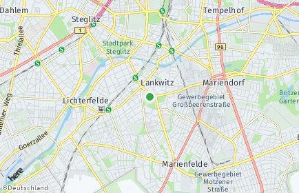 Stadtplan Berlin-Lankwitz